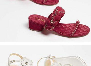 مدل کفش زنانه تابستانی برند شنل
