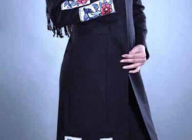 مدل مانتو مجلسی شیک مشکی تابستانه