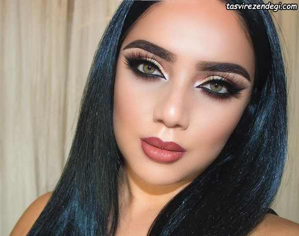 مدل آرایش صورت جدید