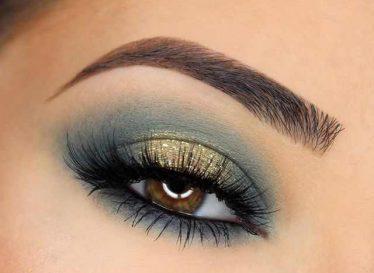 مدل آرایش چشم و سایه چشم مجلسی