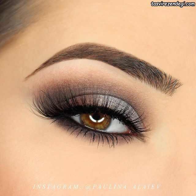 مدل آرایش چشم لایت دخترانه