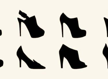 انواع کفش پاشنه بلند