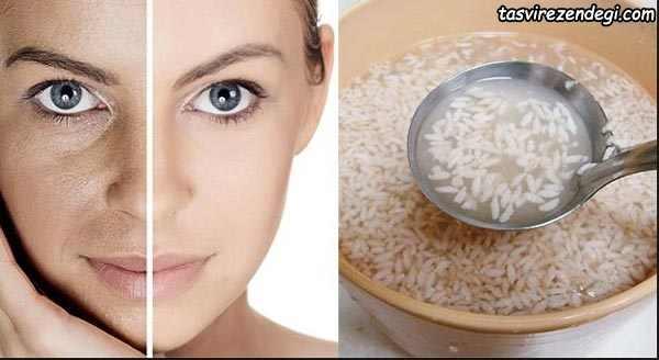تهیه ماسک آب برنج , زیبایی پوست