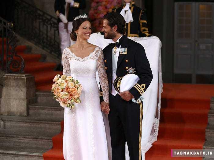 لباسهای عروس در معروفترین ازدواجهای سلطنتی